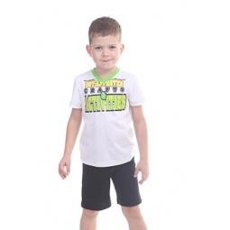 фото Комплект для мальчика: футболка и шорты Свитанак 606497. Размер: 30. Рост: 110 см
