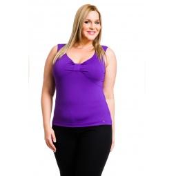 фото Майка Mondigo XL 387. Цвет: фиолетовый. Размер одежды: 52