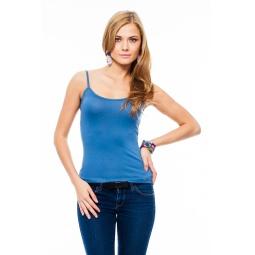 фото Майка Mondigo 9351. Цвет: джинсовый. Размер одежды: 44