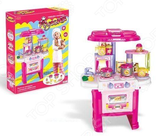 Игровой набор для девочки Shantou Gepai «Кухня с посудой» ZYA-00115 ролевые игры step 2 кухня мишлен