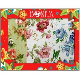 фото Комплект из 3-х вафельных полотенец подарочный BONITA «Английская коллекция»