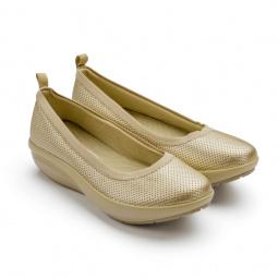 Купить Балетки элегантные Walkmaxx Comfort 2.0. Цвет: золотой
