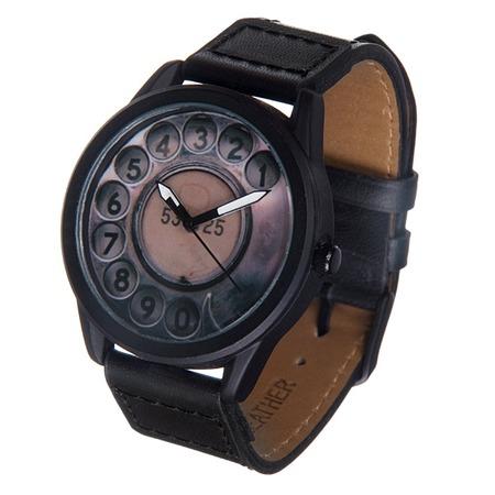 Купить Часы наручные Mitya Veselkov «Телефонный диск» MVBlack