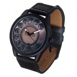 фото Часы наручные Mitya Veselkov «Телефонный диск» MVBlack