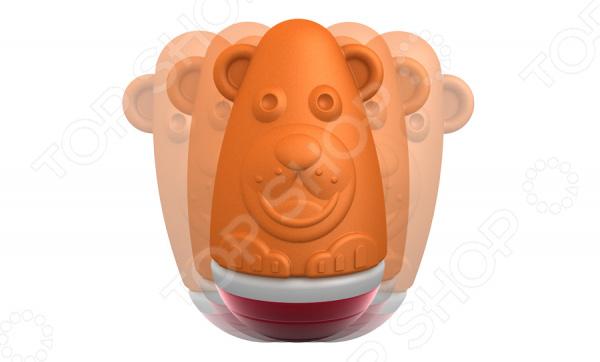 Конструктор магнитный для малышей Geomag Baby «Неваляшка медвежонок»Магнитные конструкторы<br>Конструктор магнитный для малышей Geomag Baby Неваляшка медвежонок это интересная и занимательная игрушка, которая представляет собой магнитный конструктор. Игрушка развивает детскую фантазию, воображение и пространственное мышление. Она состоит из песика и полусферы. Детали изготовлены из высококачественных экологически чистых материалов. Свойства магнитов притягиваться и отталкиваться обязательно понравится детям. Кроме того, им наверняка понравится возможность совмещения этой собачки с другими игрушками серии.<br>
