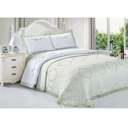 фото Комплект постельного белья с покрывалом Softline 09670. Евро