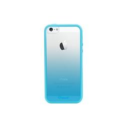 фото Чехол и пленка на экран Muvit Sunglasses для iPhone 5. Цвет: голубой