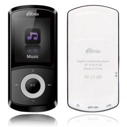 фото MP3-плеер Ritmix RF-4700. Цвет: белый. Встроенная память: 4 Гб