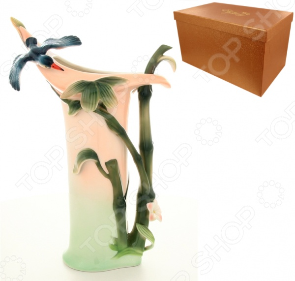 Ваза Elan Gallery «Колибри» вазы elan gallery ваза павлин в райском саду