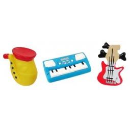 фото Набор игрушек для ребенка Жирафики «Маленький оркестр»