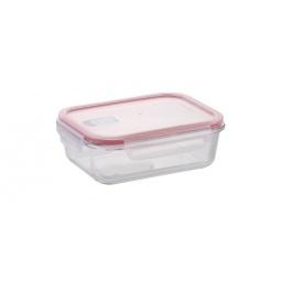 фото Контейнер для продуктов прямоугольный Glass Tescoma Freshbox. Объем: 1,1 л. Размер: 160х70х210 мм