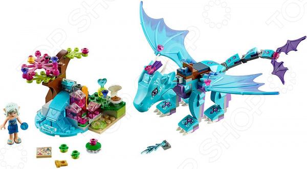 Конструктор LEGO «Приключение дракона воды»Конструкторы LEGO<br>Конструктор LEGO Приключение дракона воды оригинальный комплект, состоящий из деталей, с помощью которых можно собрать небольшую сцену с эльфами и драконом. Помоги эльфу воды Наиде по прозвищу Сердце реки не упасть со спины водяного дракона, пока та облетает Эльфендейл в поисках интересных мест. Все детали выполнены из нетоксичных материалов, поэтому полностью безопасны. Детский конструктор является достаточно практичным учебным пособием, так как он развивает память, мышление, логику, фантазию, а также моторику рук. Сборка конструктора подарит ребенку массу удовольствия и приятное времяпрепровождение. Преимущества:  Множество оригинально выполненных элементов.  Увлекательный процесс сборки.  Качественный материал.<br>