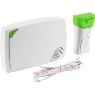 Купить Звонок электрический с кнопкой Светозар «Аккорд» 58036