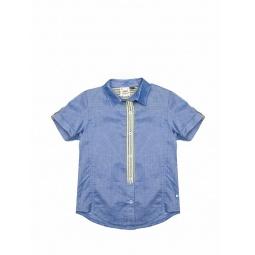Купить Рубашка с коротким рукавом Fore!! Axel and Hudson Chambray w/Stripe Shirt