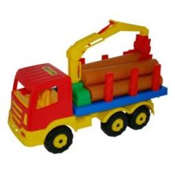 фото Машинка игрушечная Полесье «Лесовоз»