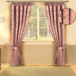фото Комплект штор Злата Корунка Б133. Цвет: розовый