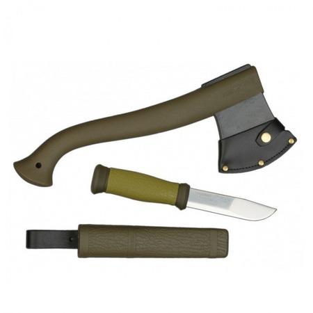 Купить Набор туриста: топор и нож MORAKNIV 1-2001