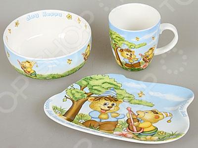 Набор посуды для детей Rosenberg 8774