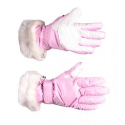 Купить Перчатки горнолыжные GLANCE Lady (2011-12). Цвет: светло-розовый