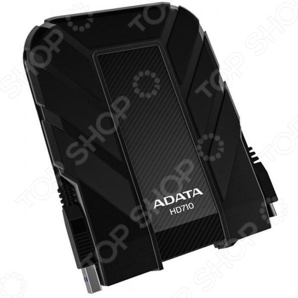 Внешний жесткий диск A-DATA HD710 1Tb внешний жесткий диск lacie stet2000400 porsche design 2tb серебристый stet2000400