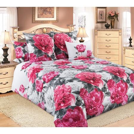 Купить Комплект постельного белья Белиссимо «Пионы» 1708825. 2-спальный
