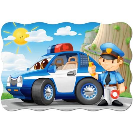 Купить Пазл 20 элементов Castorland «Полицейский патруль»