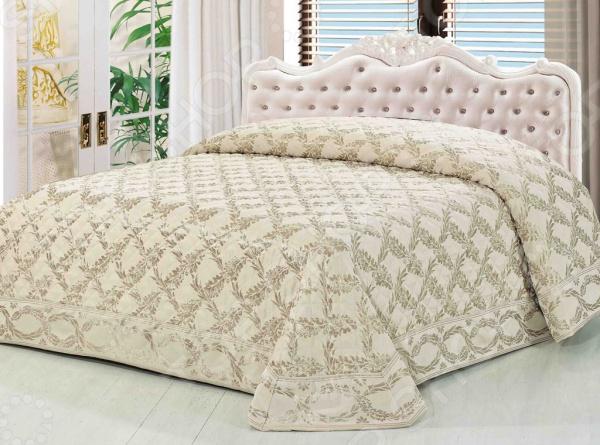 Покрывало стеганое Softline «Ласковый жемчуг»Покрывала<br>Покрывало стеганое Softline Ласковый жемчуг - это высококачественная модель, которая подарит вам тепло и поможет преобразить спальную комнату. Мягкое, теплое и приятное на ощупь покрывало согреет даже в самые холодные вечера и ночи, а стильный и красивый дизайн изделия придаст комнате изысканность и неповторимый шарм, и добавит изюминки в интерьер комнаты. Покрывало выполнено из высококачественных материалов, что позволяет значительно продлить срок службы изделия. Размер 240х260.<br>
