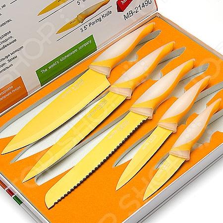 Набор ножей Mayer&Boch MB-21490 набор кухонных ножей квартет кизляр