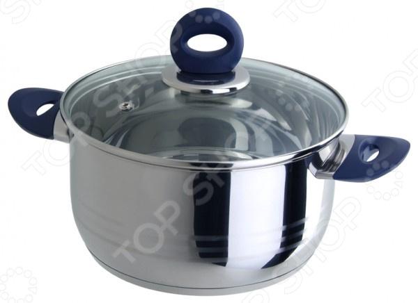 Кастрюля Regent Azzuro VitroКастрюли<br>Кастрюля Regent Azzuro Vitro большая посуда из высококачественной нержавеющей стали, в которой можно сварить первые блюда, а также потушить овощи, мясо и рыбу. Часто используется для заготовок на зиму: повидла, варенья и прочего. Крышка с пароотводом сделана из термостойкого стекла, снабжена металлическим ободком. Ручки изготовлены из прочного и термостойкого бакелита. Оптимальное соотношение толщины дна и стенок посуды обеспечивает равномерное распределение тепла, экономит энергию, делает посуду устойчивой к деформации. Многослойное капсулированное дно аккумулирует тепло, способствует быстрому закипанию и приготовлению пищи даже при небольшой мощности конфорок.<br>