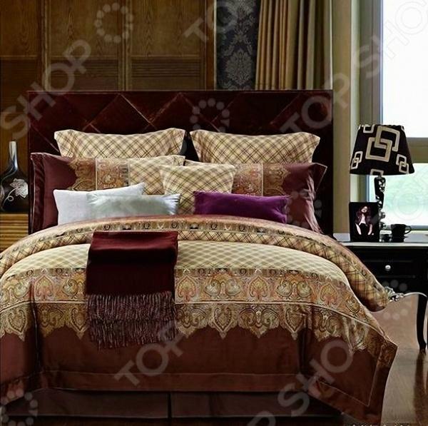 Комплект постельного белья Мар-Текс «Марокко». ЕвроЕвро<br>Мар-Текс Марокко это комплект постельного белья нового поколения , предназначенного для молодых и современных людей, желающих создать модный интерьер спальни и сделать быт более комфортным. При его изготовлении используется высокотехнологичный метод окрашивания натуральными, гипоаллергенными красителями. Белье из великолепного мако-сатина станет украшением любой спальни. Основой для ткани служит 100 натуральный хлопок. Специальный станок изготавливает из тонкой пряжи прочные и гладкие нити атласного переплетения. Ткань, сделанную таким образом, легко узнать по ее особому блеску, мягкости и гладкости. Пошив, происходящий на автоматической линии, гарантирует, что размер белья будет строго соблюдаться. Благодаря уникальным потребительским свойствам, белье не теряет цвет и не садится даже после сотни циклов стирок, а на ткани не образуются катышки .<br>