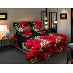 фото Комплект постельного белья Amore Mio Vecher. Mako-Satin. 1,5-спальный