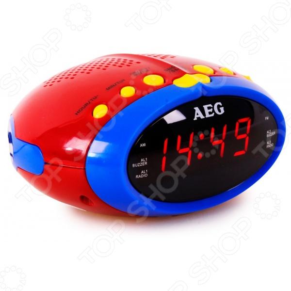 Радиочасы AEG