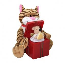 Купить Мягкая игрушка интерактивная Музыкальные подарки «Кот и мышка»