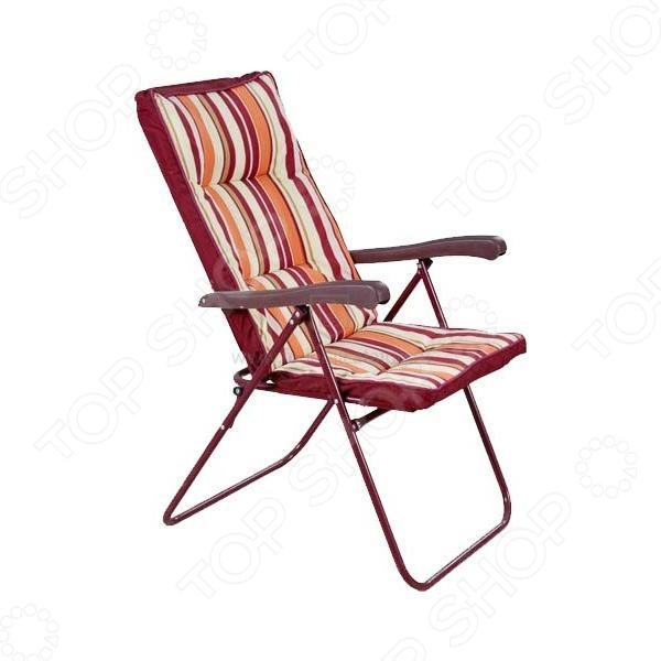 Кресло складное Boyscout 82306Стулья и кресла туристические<br>Кресло складное Boyscout 82306 с откидной спинкой и мягким матрасом. Создан специально для тех, кто любит отдыхать на природе. Рассчитан на максимальную нагрузку в 100 кг. Стул сделает ваш отдых максимально комфортным и приятным. Прочный стальной каркас и износостойкое гарантируют долгий срок службы. Стул легко складывается, поэтому хранение и транспортировка не доставят проблем.<br>