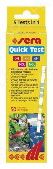 Тест для аквариумной воды Sera Quick Test xeltek private seat tqfp64 ta050 b006 burning test