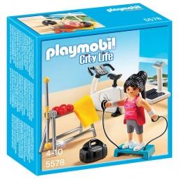 фото Конструктор игровой Playmobil «Особняки: Комната для фитнеса»