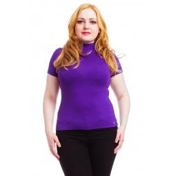 фото Водолазка Mondigo XL 037. Цвет: фиолетовый. Размер одежды: 48