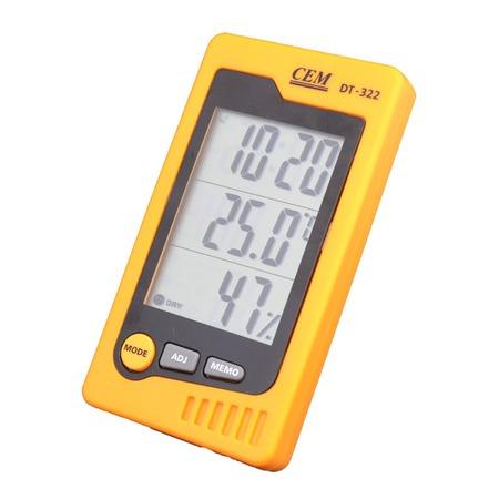 Купить Измеритель температуры и влажности СЕМ DT-322