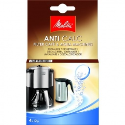Купить Очиститель от накипи для кофеварок и чайников Melitta 1500758