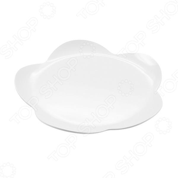 Тарелка десертная Zak!designs Flower тарелка десертная даржилинг оранж 20 5 см 861123
