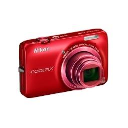 фото Фотокамера цифровая Nikon CoolPix S6300. Цвет: красный