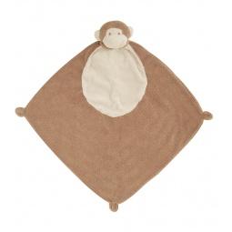 фото Покрывальце-игрушка Angel Dear Обезьяна. Цвет: коричневый