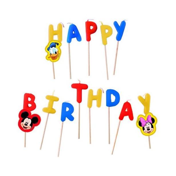 фото Свечи на торт Procos «Микки Маус Happy Birthday»