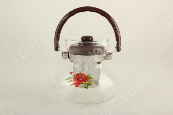 Чайник заварочный Коралл COZ06-0006 Lermony заварочный чайник коралл 1 2 л