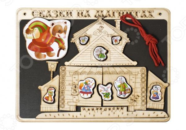 Доска магнитная для ребенка БЭМБИ «Сказки на магнитах. Теремок»