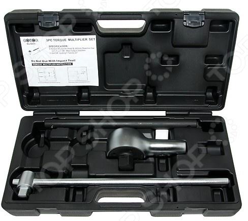 Набор: мультипликатор ручной с воротком Force F-6031 ключ накидной 12 гранный прямой силовой force f 793