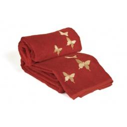 фото Комплект полотенец из махры Tete-a-Tete Т-МП-6200-04. Цвет: красный