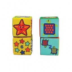 Купить Кубики мягкие K'S Kids «Кубики-пазлы»