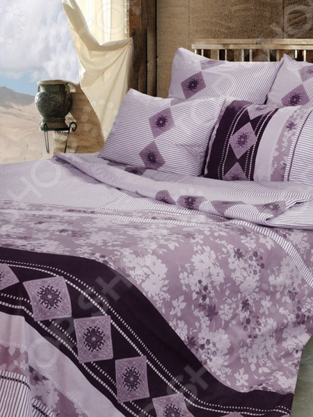 Комплект постельного белья Сова и Жаворонок «Эльза» 19063/1 постельное белье для snoff комплект постельного белья 2 0 макси для снов рис 1948 1 эльза