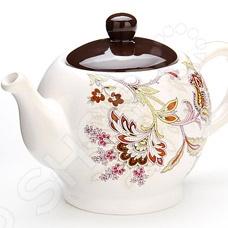 Заварочный чайник Loraine «Узор»